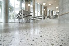 There are many benefits to a polished concrete floor. Since most buildings are constructed on concrete, polishing this surface means that you do not need to .