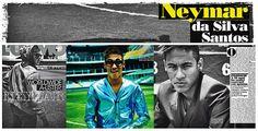 """VAI BRASIL!   Neymar é capa da revista italiana L'Uomo Vogue de janeiro. Chamado de """"it guy"""", o jogador ganha perfil e editorial esportivo de quatro páginas na revista, fotografado por Francesco Carrozzini."""