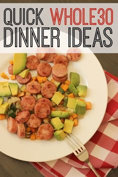 Quick Whole 30 Dinner Ideas | Good Cheap Eats - Breaking the hold of quick, processed foods can be hard. Try these Quick Whole 30 Dinner Ideas to eat real good food, real quick.
