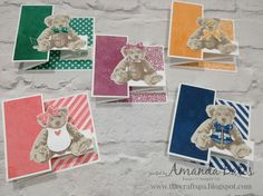 The Craft Spa - Stampin' Up! UK independent demonstrator : The Bear, the In Colours and the Wardrobe - and a Blog Hop!!