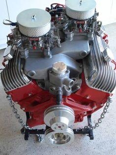 Chevy  409  w  M/T   CROSSRAM