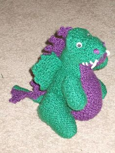 1000+ images about Knit toys (dragons, dinosaurs) on Pinterest T rex toys, ...