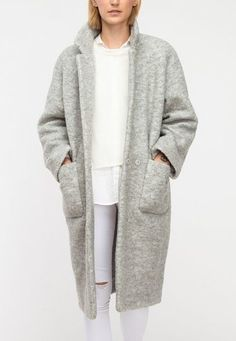 Teddy Coat by Ganni