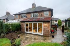 Gallery: House Extension In Frodsham - Rees Developments Small Conservatory, Conservatory Dining Room, Conservatory Extension, Wraparound Extension, Single Storey Extension, Rear Extension, Extension Designs, Extension Ideas, House Extensions