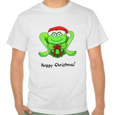 Hoppy Frog Funny Merry Christmas Shirt Hop to that decorating!