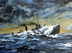 Acryl 4 (torpedoboat V.188) by Radomski on DeviantArt
