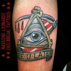 #eyeofgod #tattoo #massimoleonarditattooing #jailbreaktattoos #jailbreaktattooscagliari #tattoocagliari #cagliaricittàmetropolitana #massimoleonardijailbreak   #tatuaggicagliari #traditionaltattoo #tatuaggiotradizionale #tatuaggicagliari #viaiglesias18 #shoppingcagliari