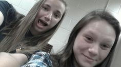 Abby and I in civicsssss
