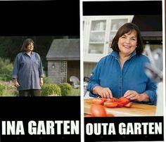 Funny Barefoot Contessa Meme Ina Garten Queen Ina The Barefoot