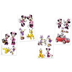 Disney's Minnie Mouse Bowtique Tattoos (16 Pcs. Per Unit) Safe and Non-toxic. 1 * You can find out more details at the link of the image. (This is an affiliate link) #PartySupplies