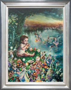 Peter Pan in Kensingtn Gardens - Kerry Darlington (Unique Limited Edition Resin) - £995.00 - Kerry Darlington - Prints & Artwork