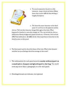 This is an awesome alternative to the standard book report and students really enjoy this form of assessment. It is adaptable and easy to asses...