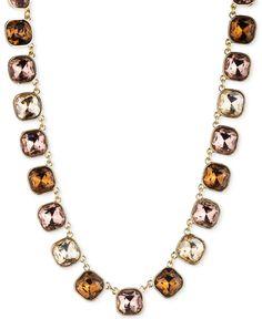 Anne Klein Stone All-Around Collar Necklace