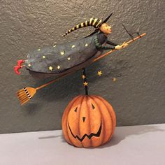 "Retired August Moon Halloween ""Hildy"" Dan DiPaolo"