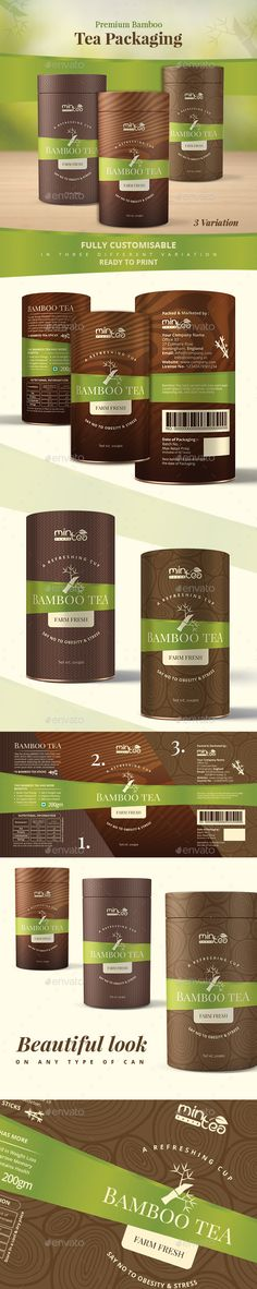 Tea Packaging Label  Print Templates Template And Teas