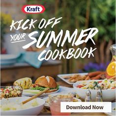 FREE Kick Off Your Summer Cookbook from Kraft! #ad #CookingUpSummer