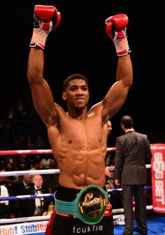Anthony Joshua, Will Be Wearing A Lot More Belts In The Coming Years! #FutureWorldChampion