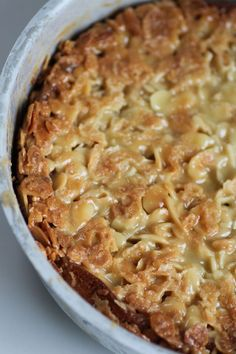 Knäckig Toscakaka Swedish Recipes, Fika, No Bake Cake, Food Inspiration, Macaroni And Cheese, Cheesecake, Deserts, Good Food, Brunch