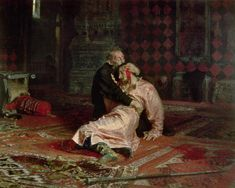 Ilya Efimovich Repin / Ivan the Terrible and his son