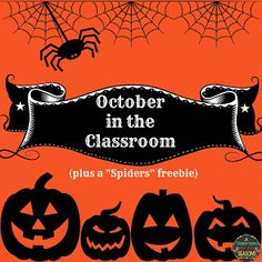 "Celebrating October (plus a ""Spiders"" freebie)"