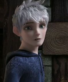 """Jack Frost from """"Rise of the Guardians"""". I love this character."""