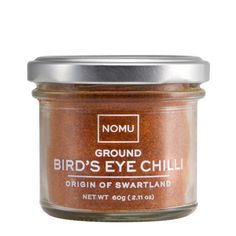Cook's Collection Ground Bird's Eye Chilli: These small chillies are known for their extremely pungent smell, and are very hot! Popular in Vietnamese cuisine, Bird's Eye Chilli is often added to soups, salads and stir fry's.