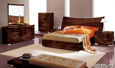 Made in Italy Leather Modern High End Furniture feat Wood Grain