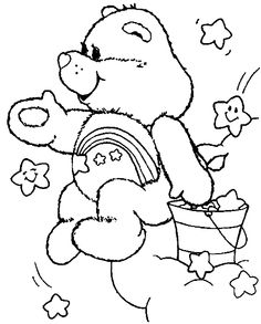 wish bear coloring pages - photo#15