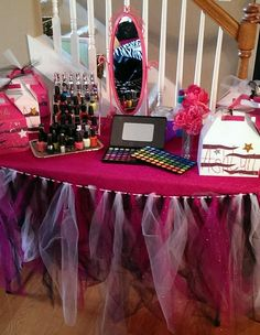 Spa party for girls! Birthday idea
