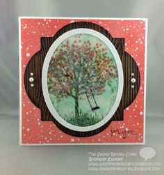 Bronwyn Eastley: Add INKtive Designs – The Stamp Review Crew - Sheltering Tree - 3/1/15.  (SU/ 2015 Occ: Sheltering Tree stamp).  (link to Acetate & Tissue Splitcoaststampers Tutorial)  (Pin#1: Nature: Tree.  Pin+: Tutorial: Techniques).