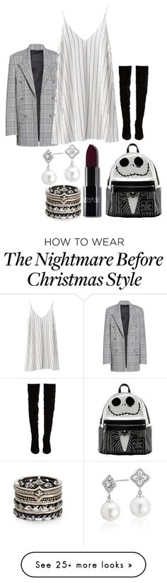 """Untitled #2023"" by social-outcast-16 on Polyvore featuring Alexander Wang, Christian Louboutin, Blue Nile and Kendra Scott"
