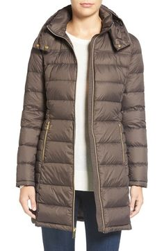 MICHAEL Michael Kors Packable Quilted Down Coat available at #Nordstrom now $139.10, originally $210.00 Perfect for winter, or for if you're doing any travel.