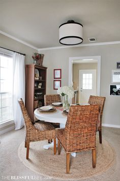 Dining Room Updates | The Blissful Bee
