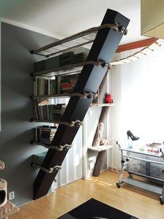 Knihovna Shoe Rack, Bookcase, Home, Shoe Racks, Ad Home, Book Shelves, Homes, Haus, Bookshelves