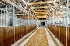 Stunning horse barn - indoor stables
