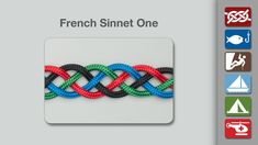 The Animation for the French Sinnet One shows how four strands are braided to make a pleasing symmetrical Flat Plait or Sinnet and provides an interesting hairstyle option.