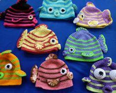 Kissy Fish Crochet Pattern by Darleen Hopkins