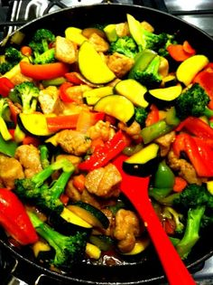 ... Stir Fry with Eggplant, Zucchini, and Yellow Squash | Vegetables, Will