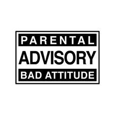 Bumper Stickers > Funny > Parental Advisory ❤ liked on Polyvore featuring words, fillers, quotes, pictures, text, phrase and saying