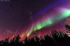 A Flag Shaped Aurora over Sweden Image Credit & Copyright: Mia Stålnacke http://apod.nasa.gov/apod/ap150330.html