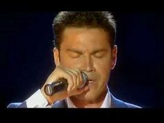 """Nights In White Satin"" sung in Italian by Mario Frangoulis, with an appearance by Justin Hayward."