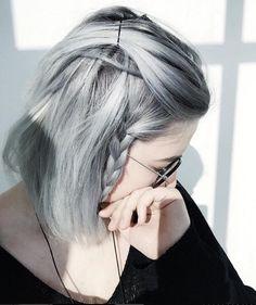 cabelo cinza                                                                                                                                                                                 Mais