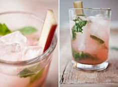 rhubarb mojito from @ashleyrodriguez of not without salt.