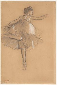 Edgar Degas (French, Paris 1834–1917 Paris) Dancer on pointe