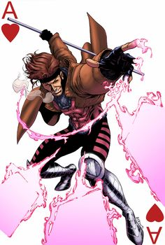 X-Men Gambit by *logicfun on deviantART