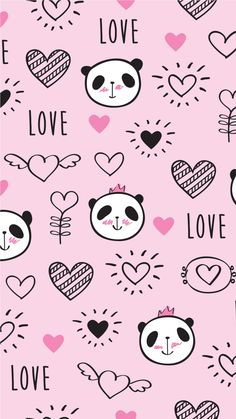 Lovely panda,like that. Panda Wallpaper Iphone, Cute Panda Wallpaper, Panda Wallpapers, We Bare Bears Wallpapers, Bear Wallpaper, Kawaii Wallpaper, Pastel Wallpaper, Cute Wallpaper Backgrounds, Cute Cartoon Wallpapers