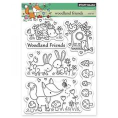 Penny Black Clear Stamps - Woodland Friends