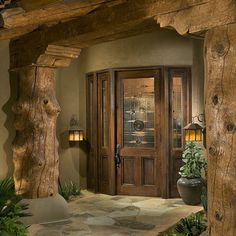 Quite the entry way! Log Home Interior Photos Design, Pictures, Remodel, Decor and Ideas - page 3