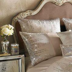 Kylie Minogue Jessa Blush Sequin Satin 100 Cotton Housewife Pillowcase for sale online Bedroom Comforter Sets, Duvet Bedding, Sequin Bedding, Glam Bedroom, Bedroom Decor, Bedroom Neutral, Bedroom Ideas, Business Office Decor, Bed Cover Design