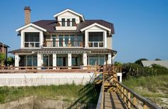 Oceanfront Litchfield Beach SC Vacation Rentals | 72 Seaside    And this is my dream retirement home- we actually stayed in the bch house right behind this one last summer- the pool light changes color at night- it's neat to see from the beach!!